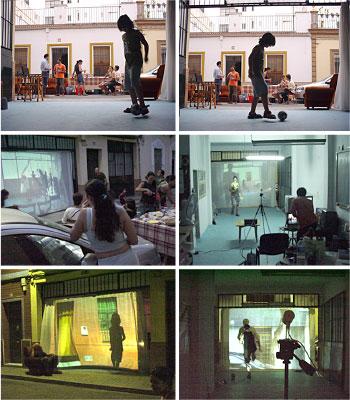 intervención en el espacio público, sevilla - bregenz, austria
