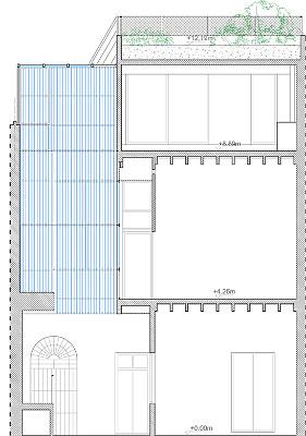 proyecto de rehabilitación y reforma de casa patio, sevilla