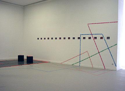 exposicion del proyecto en el centro de arte contemporaneo de amberes, bélgica