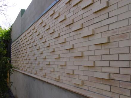 pruebas a escala 1:1 para la definición de la fachada