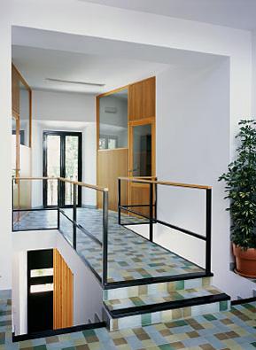 la doble escalera de subida era un elemento curioso del antiguo ayuntamiento