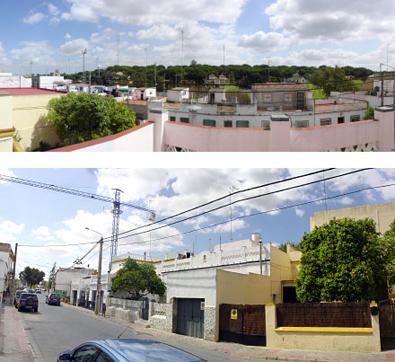 el solar estaba ubicado en un barrio popular de alcalá en vías de desarrollo y expansión