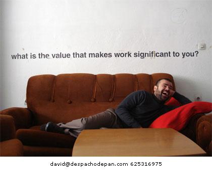david (socio fundador) lleva 2 años desvinculado de lapanaderia trabajando y viviendo con su familia en suiza